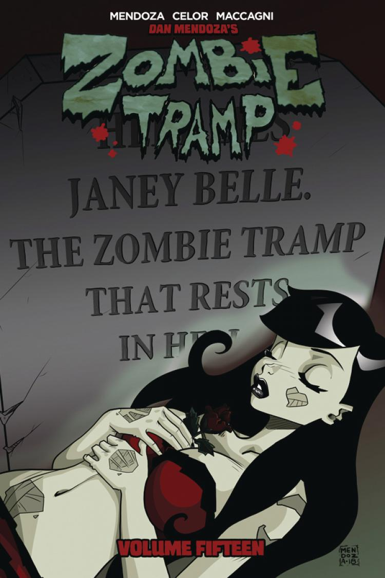 ZOMBIE TRAMP TP VOL 15 DEATH ZOMBIE TRAMP