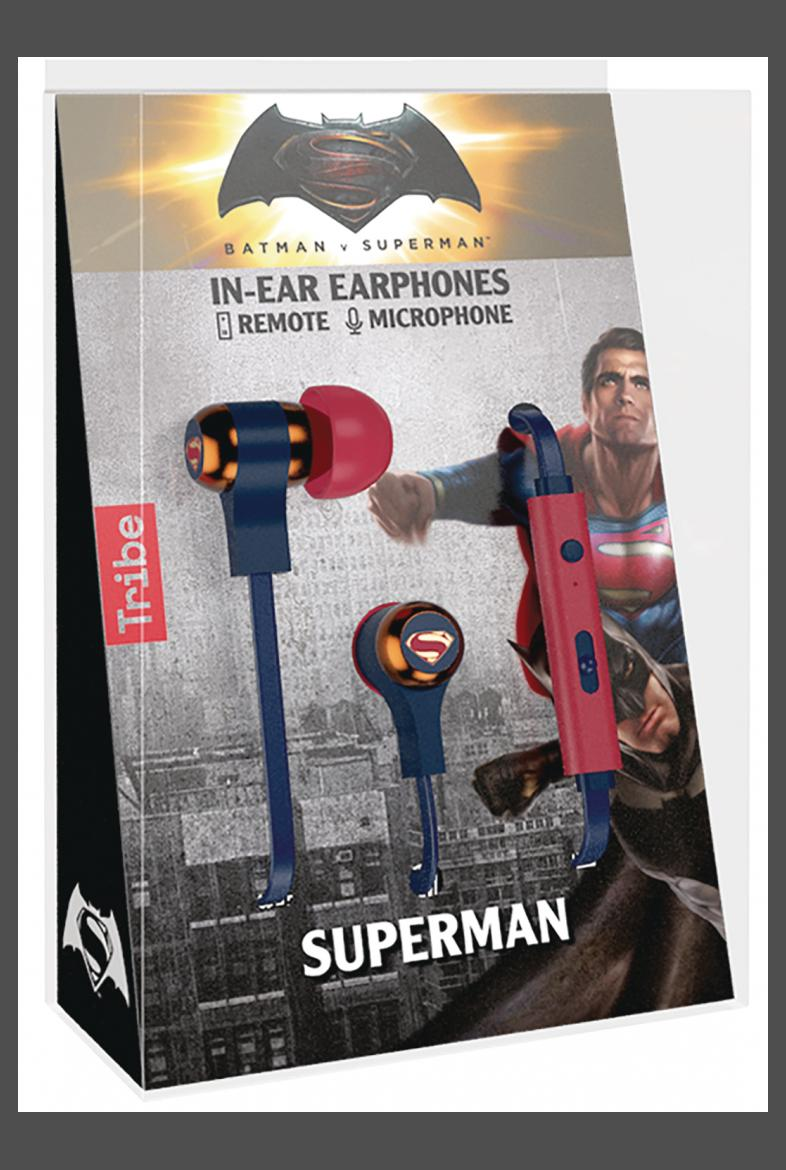 Maikii Inc The Dark Side Comics Games Sarasota Fl Tribe Headphones Batman Dc Heroes Superman Swing Earphones